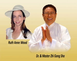 Ruth Anne Wood and Dr. and Master Zhi Gang Sha
